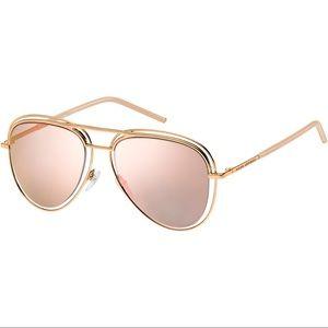 Marc Jacobs 7/S Aviator Metal Sunglasses